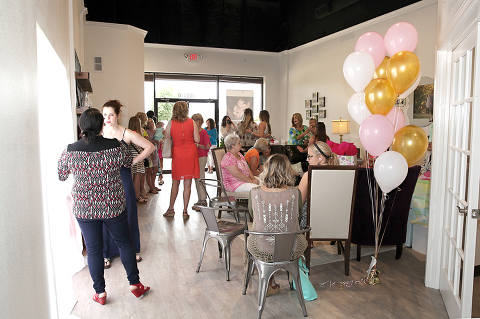 baby shower venue in college station
